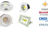 LED COB podhledová svítidla