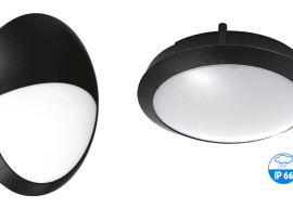 LED přisazená svítidla s čidlem pohybu IDEALED ROOF2 MW IP66