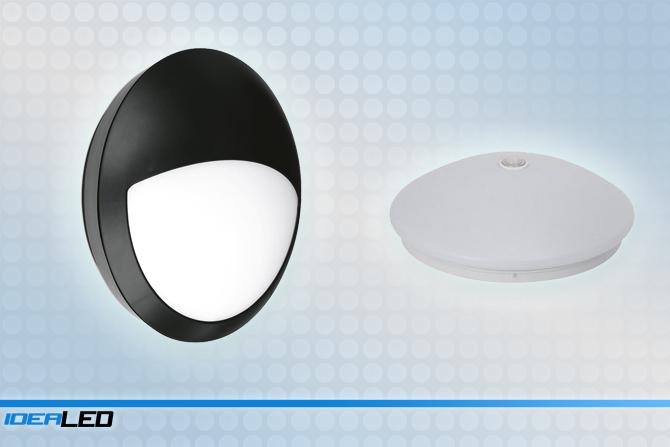 LED svítidla s čidlem pohybu