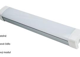 LED hliníková prachotěsná svítidla IP65 TPC