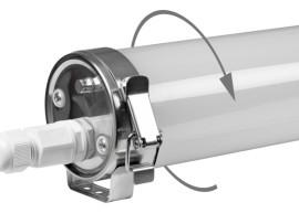 LED průmyslová lineární svítidla TUBULAR IP69