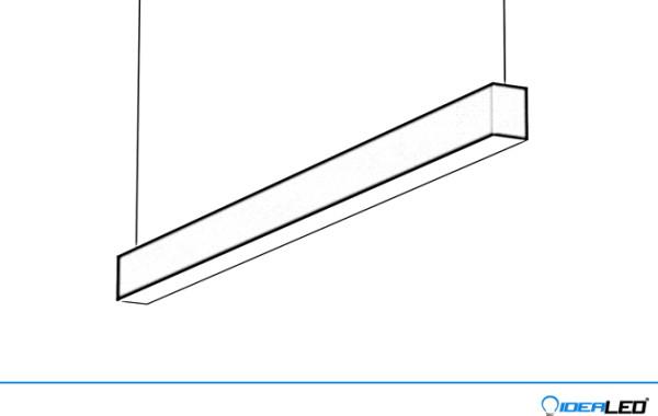LED lineární svítidla